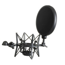 High Quality Microphone Mic Professional Shock Mount With Pop Shield Filter Screen R1BO