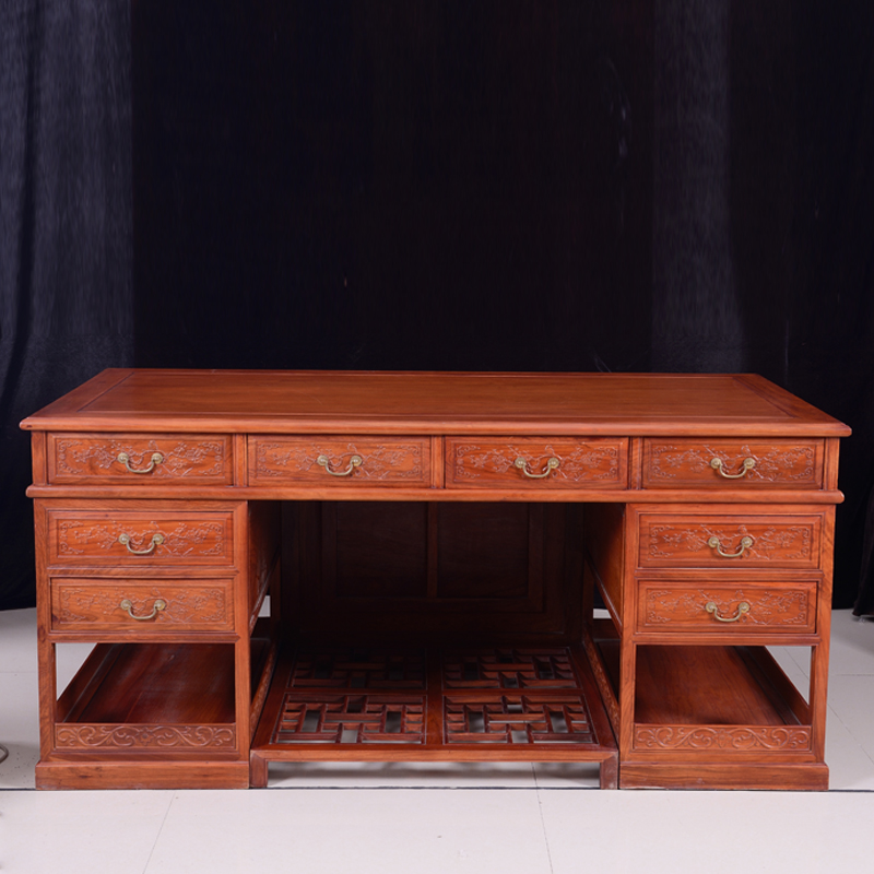 African Rosewood Furniture, Ming And Qing Classical Mahogany Office  Furniture Desk Bookcase Bookcase Combination In Dressers From Furniture On  ...