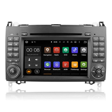 Quad core 1.6GHZ Android 5.1 Car DVD Player GPS Stereo for Benz Sprinter W209 W169 B200 W169 A160 W245 B170 BT 3G Wifi Radio map