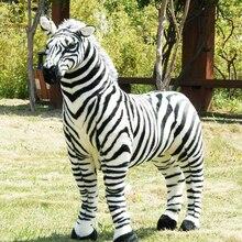 BOLAFYNIA Children Plush Stuffed Toy black and white strip zebra Baby Kids Toy for Christmas Birthday gift