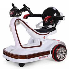 Music LED Children Electric Vehicles Remote Control Scooter Bumper Car Rotating Baby Electric Drift Car for Kids Ride on Toys three wheels smart electric scooter hoverboard drift car mini drift vehicle 36v lithium battery electric car gift for kids new