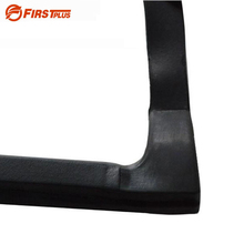 1 Pair Update Car Seamless Integrated Front Rear Door Sealing Strips Trim Sealed Mouldings Soundproof Dustproof