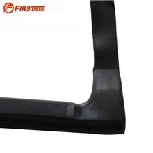 Sealing-Strips Trim Seamless Dustproof Rear-Door Front 1-Pair Car Update Integrated