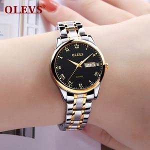 Image 5 - Woman Watch 2020 Brand Luxury Stainless Steel Ladies Watch Date Luminous Quartz Women Watches Leather Lady Waterproof Wristwatch
