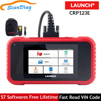 LAUNCH x431 CRP123E OBD2 OBDII diagnostic tool With Engine ABS Airbag SRS Transmission systems Code Reader CRP123 E Free Update