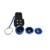 Kit 4em1 Lanterna LED Com Clipe 3in1 Peixe olho Lente Da Câmera Do Telefone lentes grande angular macro para samsung galaxy s3 s4 s5 s6 s7 borda