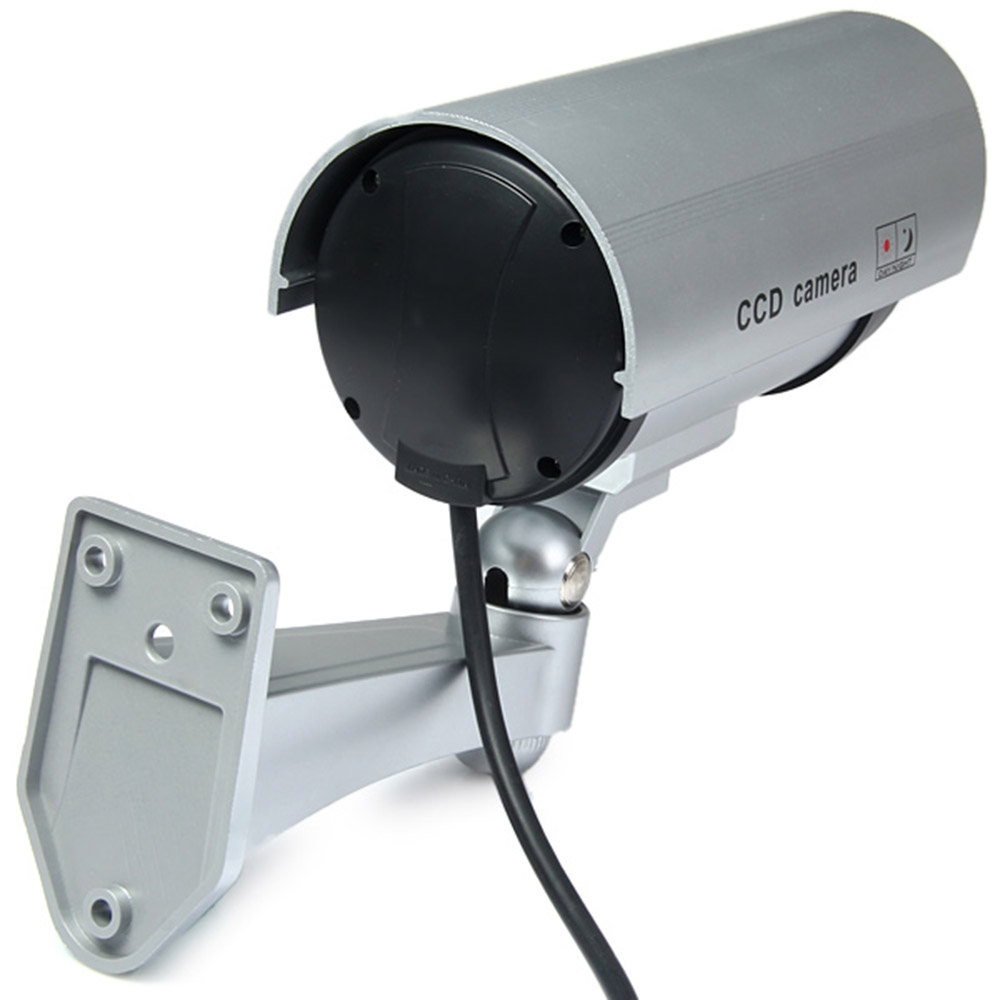 FIMEI Waterproof Dummy CCTV Security Bullet Fake Camera Home