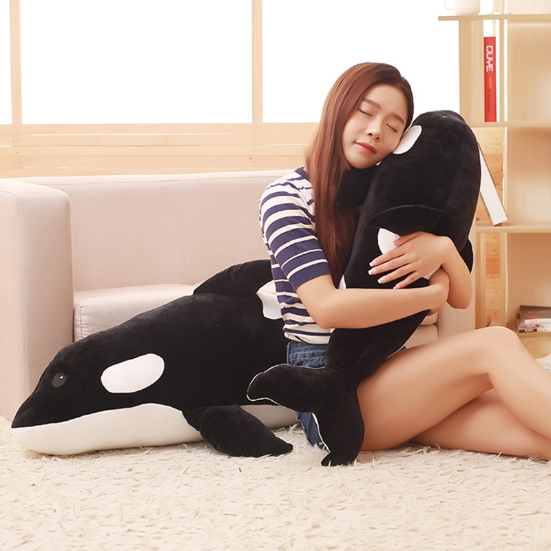 Shop For Cheap Babiqu 1pc 50/80cm Killer Whale Doll Plush Toy Soft Stuffed Pillow Cushion Sea Animal Creature Cartoon Child Kidkawaii Cute Gift Good Heat Preservation Toys & Hobbies Dolls & Stuffed Toys