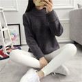 Women Sweaters Pullovers 2016 Autumn Winter Oversized Knitted Sweater Womens Pullover Burderry Pull Femme Sweter Mujer Jumpers