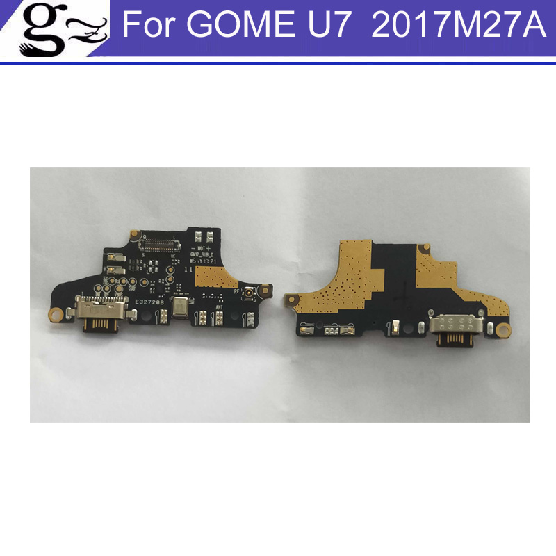 New tested Good Charge Port Connector USB Charging Dock Board Flex Cable Original For GOME U7 2017M27A USB Charge Board