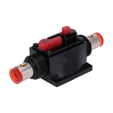 Universal Round 100A Car Audio Circuit Breaker Fuse for System Protection Car Audio 100/80-Amp Circuit Breaker Superior Fuse(China)
