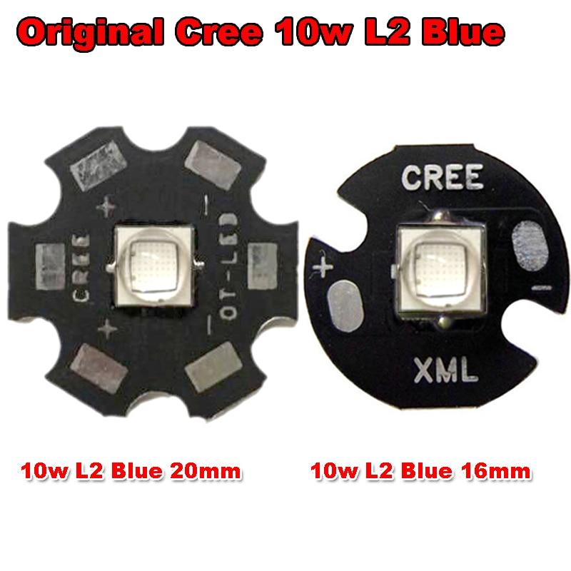 Նոր 1 հատ հատ օրիգինալ CREE 10W XML XM-L L2 - Լուսավորության պարագաներ - Լուսանկար 1