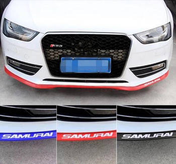 Car styling Car Front Lip Side Skirt Body Trim Front Bumper For bmw e34 nissan tiida renault kia cerato seat leon mitsubishi asx image
