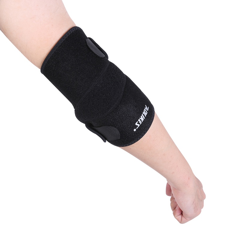 2017 New Hot Sport Safety Elastic Elbow Brace Sleeve Pad For Volleyball Tennis Elbow Support Absorb Sweat Protection