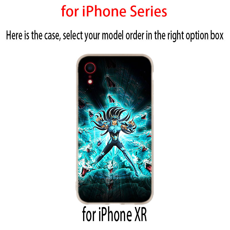 Image 5 - Saint Seiya Case for iphone XS 11 Pro Max XR X 10 Cover Phone Cases for iphone 7 8 plus 6s 5 4sFitted Cases   -