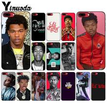 Yinuoda lil baby rapper Smart Cover Black Soft Shell Phone Case for Apple iPhone 8 7 6 6S Plus X XS MAX 5 5S SE XR Mobile Cover(China)