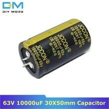 63V 10000 мкФ 30X50 мм 30X50 алюминиевый электролитический конденсатор высокая частота низкое сопротивление через отверстие конденсатор 30*50 мм diymore