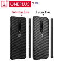Originale OnePlus 7 Custodia protettiva Pro Karbon Arenaria UNA Partita Perfetta Protezione Affidabile Sobrio Profilo Bordo Rialzato