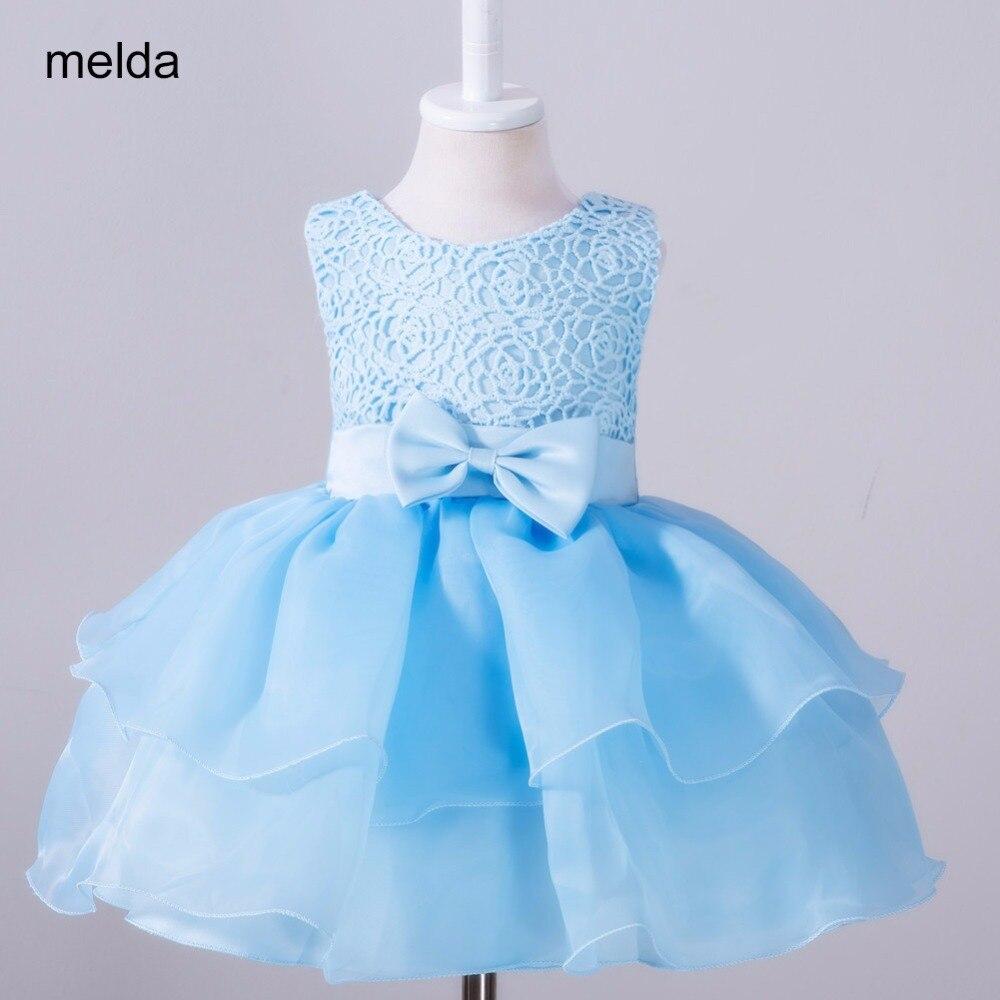 2017 Newborn White Dress Baby Girls Dresses Girl Toddler First ...