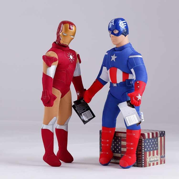 """ממולא בפלאש הנוקמים Thor דמות על 40 ס""""מ, איש ברזל, הענק הירוק, קפטן אמריקה ילדי צעצוע קטיפה בובת מתנה לחג המולד w0066"""