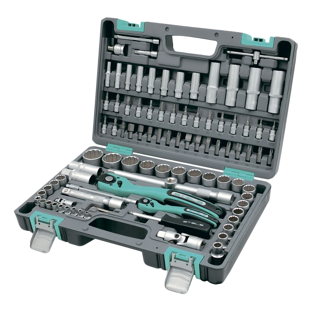 Tool Kit STELS 14118 (94 the subject of high quality steel, carrying case included) hand tool set stels 14118