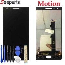 """5.5 """"para blackberry motion display lcd de toque digitador da tela assembléia para blackberry motion lcd com quadro peças reposição"""