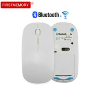 Wireless 2 4Ghz Bluetooth 4 0 Dual Mode Mouse 1600 DPI Ultra Thin Ergonomic Portable Optical