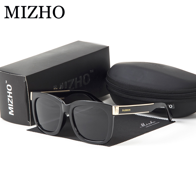 MIZHO Nano Vacuum Plating High Quality EYEGlasses Fame Womens Sunglasses Men Polarized Square Excellent Shock Resistance Safety