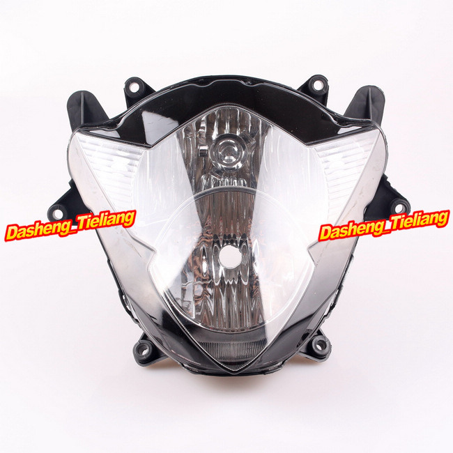 Здесь можно купить   Motorcycle Front Headlight Headlamp for Suzuki 2005 2006 GSXR 1000 K5 GSXR1000 05 06,  Black Color Автомобили и Мотоциклы