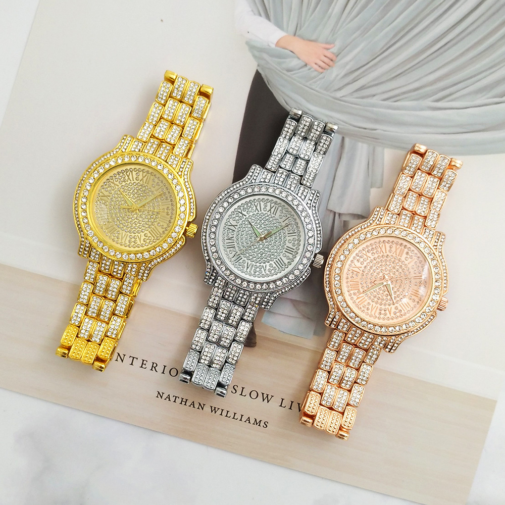 Classic Luxury Rhinestone Watch Women Watches Fashion Ladies Watch Women's Watches Clock Relogio Feminino Reloj Mujer (6)