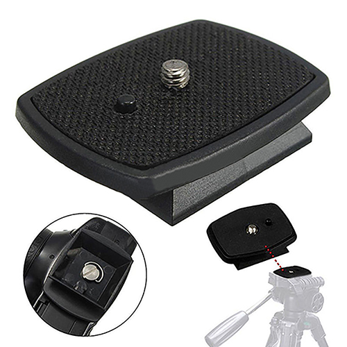 Practical Screw Adapter Tripod Quick Release Plate for Digital Camera DSLR SLR