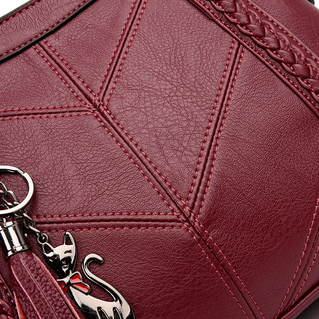 Sac A Main Femme Leather Luxury Handbags Women Bags Designer Ladies Hand bags High Quality Female crossbody Bags For Women 2019