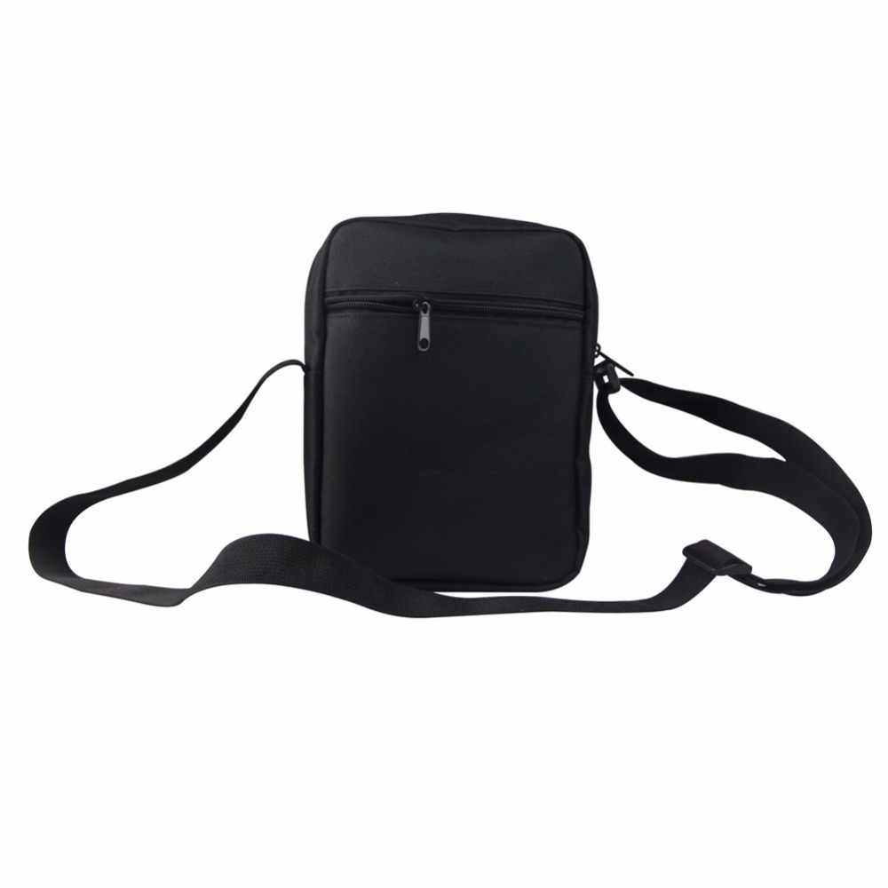 FORUDESIGNS 3D Fashion Men Mini Messenger Bags Cool Animal Owl Car Pattern Men's Small Shoulder Bags Luxury Man Cross Body Bags