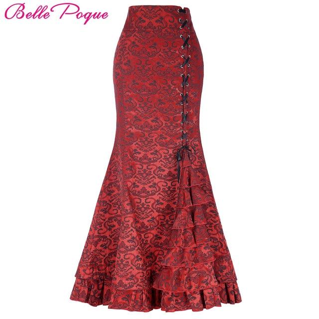 How to dress up a long maxi skirt