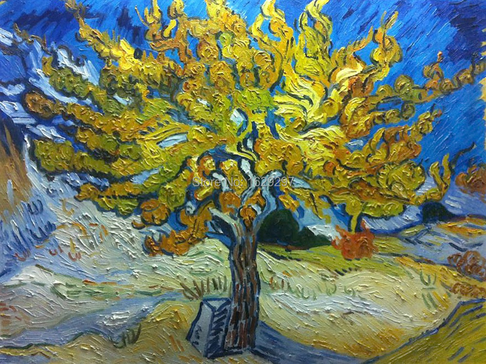High Quality The Mulberry Tree Vincent Van Gogh Oil