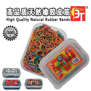 500 PCS Colorful Elastic Rubber Bands,Beauty Town Children's elastic band,Rubber Hairband Rope Ponytail Holder Elastic Hair Band