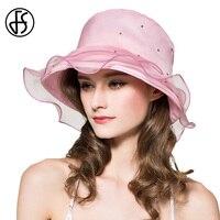 Queen Hat Summer Women S Rhinestones Pearls Caps Purple Silk Wedding Party Hats Pink Bue Orange