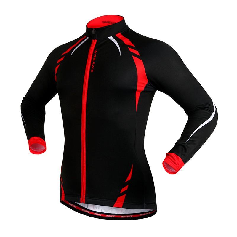 WOSAWE termiske cykeljakker Gule vindtæt langærmet trøje MTB cykel - Cykling - Foto 4