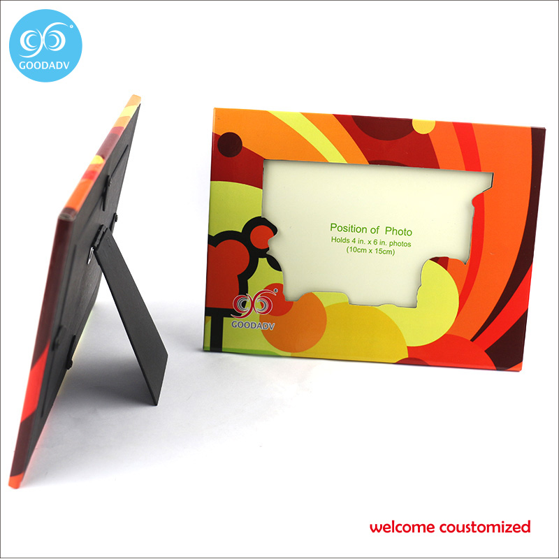 Good quality promotional gifts custom photo picture frame beautiful ...