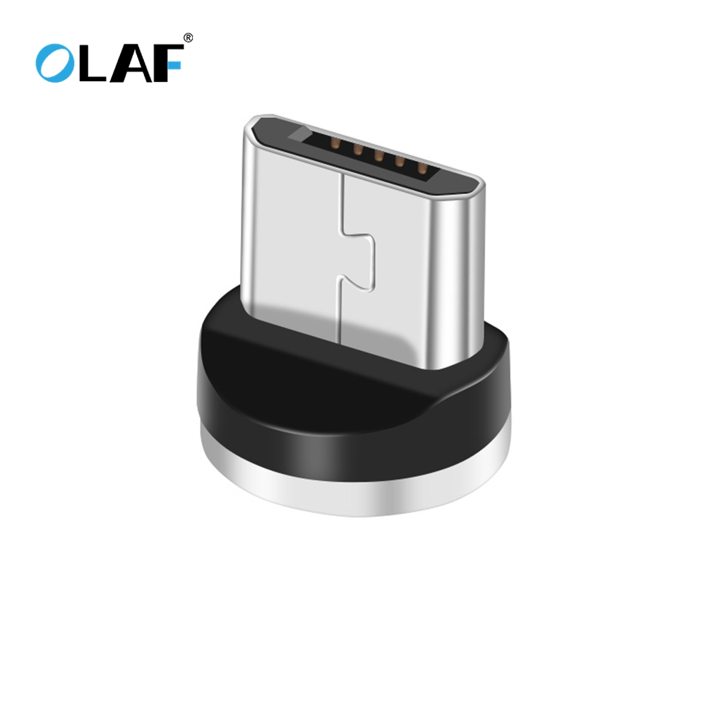 OLAF Magnetic USB Cable Adapter  For IPhone Type C Magnet Charger Data Charging Charge Micro USB Cable Mobile Phone Cables