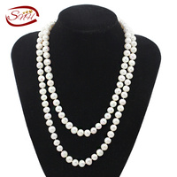 Cultured Pearls Necklace Jewelry Women Natural Pearl Necklace With Heart Clasp Customized Pearl Gifts