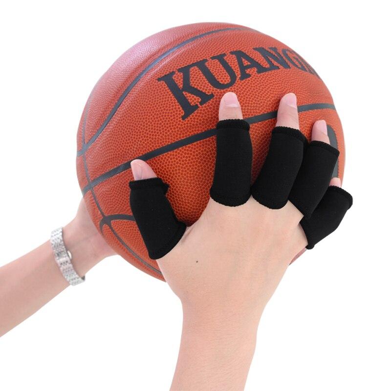 Trendyest 10/pcs /élastique Finger Sleeve Support Wrap arthrite Guard Volleyball Sports