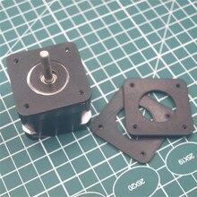 2 pcs 2mm Anti-Titreşim kauçuk amortisörler yerine mantar NEMA 17 Step Motor Damperi Izolatör için 3D yazıcı nema17 Step Motor