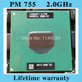 Ноутбук CPU оригинальный вечера 755 2.0 ГГц / 2 м / 400 ноутбуков процессор PM755 Centrino Pentium M Centrino SL7EM