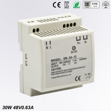 Free Shipping CE RoHS Certificated 30w 48v Din Rail Switching Power Supply For Industry цена в Москве и Питере