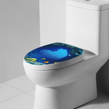 tropical fish toilet seat. Beautiful Toilet Seat Wall Sticker Tropical Fish Vinyl Art Wallpaper  Bathroom Decals China Buy fish toilet seats and get free shipping on AliExpress com