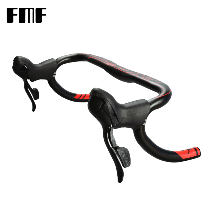 FMF Road Bike Brake Levers Aluminum Alloy And resin Front Rear Brake Handlebar Fixed Gear Brake Levers Fit 22.2-23.8mm HandlebarFMF Road Bike Brake Levers Aluminum Alloy And resin Front Rear Brake Handlebar Fixed Gear Brake Levers Fit 22.2-23.8mm Handlebar