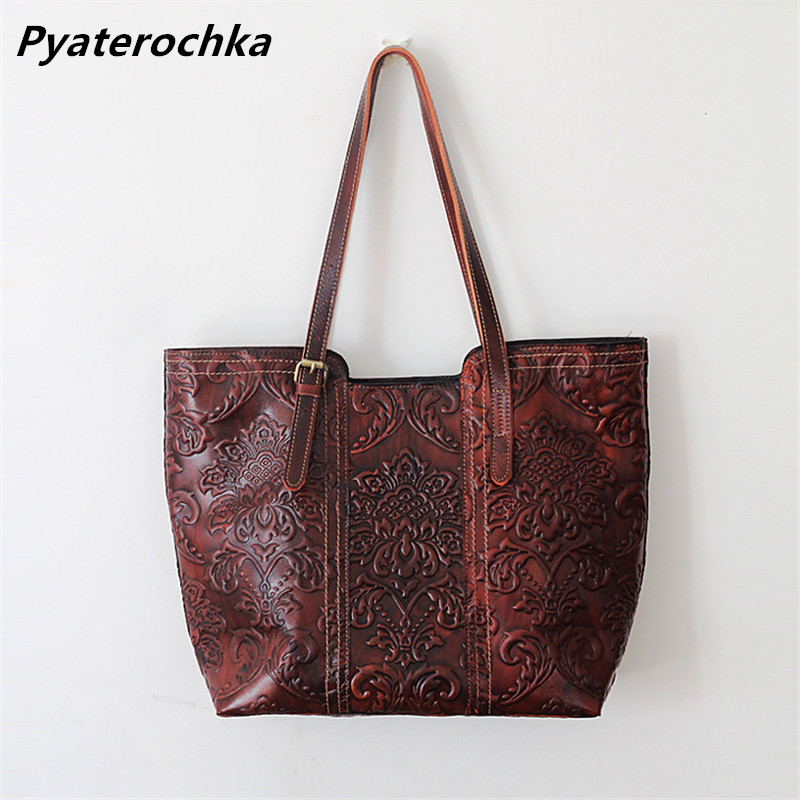 Women Shoulder Bag Vintage Genuine Leather Big Handbag Bags Brand Casual Tote Bag Designer Handbags High Quality 2018 Ladies Bag лодка надувная лидер 430 зеленая