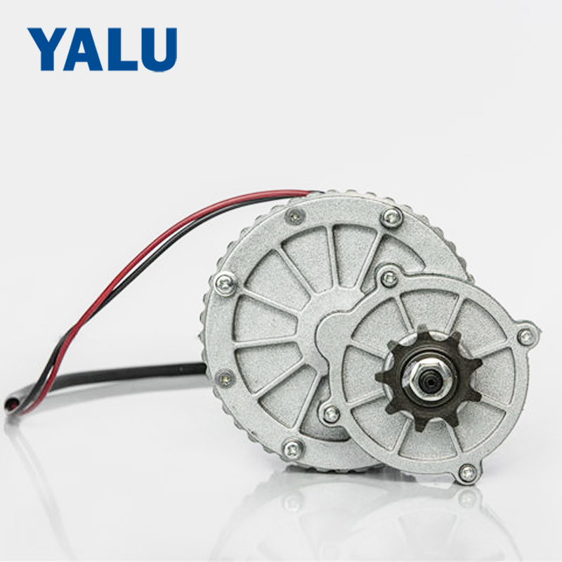YALU motor MY1018 250W 24V/36V DC Gear Brushed Motor Engine Ebike Scooter Electric Bike DC Motor my1018 250w 24v dc gear brushed motor electric bicycle kit electric bike kit e scooter engine bike accessories