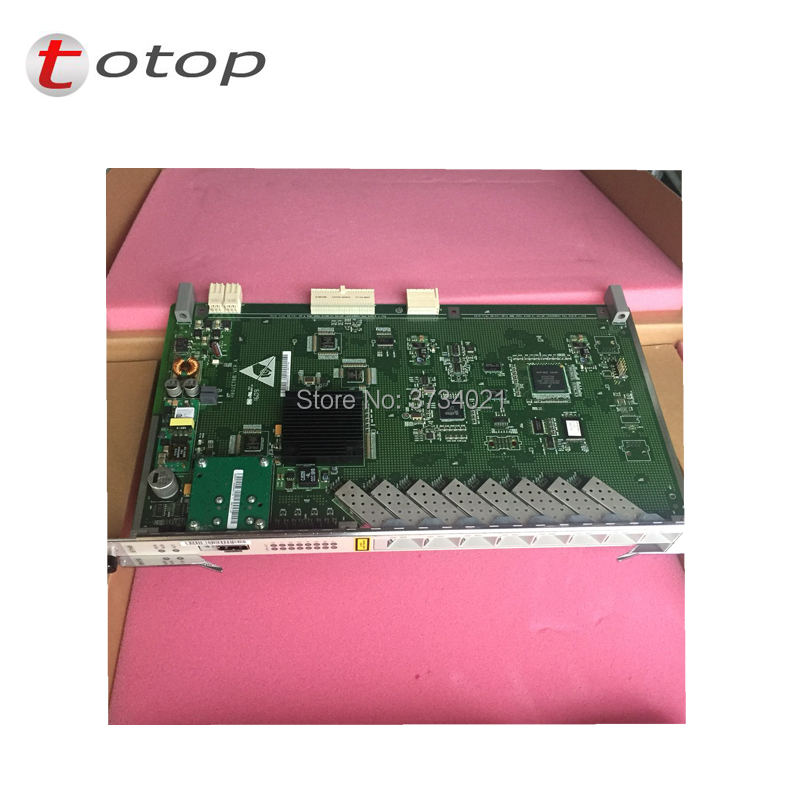 Epon/gpon Strong Resistance To Heat And Hard Wearing Used For Ma5680t Ma5683t Original Hua Wei H801 Version Ethb Board With 8 Port Ge Uplink Board